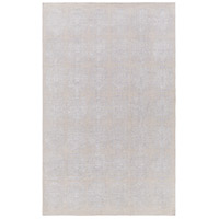 Adeline 90 X 60 inch Gray Area Rug, Wool, Viscose, and Cotton