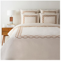 Afia Tan Duvet Set, Twin
