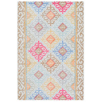 Antigua 36 X 24 inch Sky Blue Indoor Area Rug, Rectangle