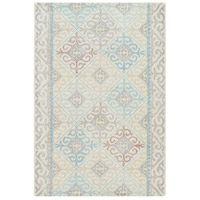 Antigua 36 X 24 inch Denim Indoor Area Rug, Rectangle