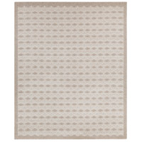 Agostina 120 X 96 inch Gray and Neutral Area Rug, Wool and Cotton