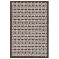 Agostina 36 X 24 inch Brown and Neutral Area Rug, Wool and Cotton
