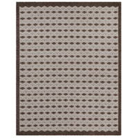 Agostina 120 X 96 inch Brown and Neutral Area Rug, Wool and Cotton