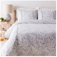Aria White and Green Duvet Set in Twin, Twin