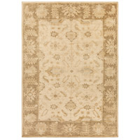 Ainsley 132 X 96 inch Neutral and Blue Area Rug, Wool