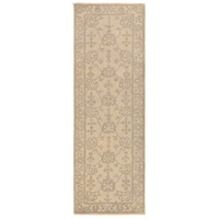 Ainsley 96 X 30 inch Neutral and Gray Runner, Wool