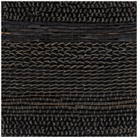 Aija 18 X 18 inch Black Indoor Area Rug, Sample