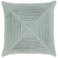 Akira 18 X 18 inch Ice Blue Pillow Kit, Square