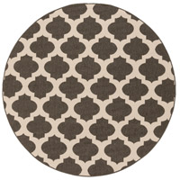 Alfresco 63 inch Black and Neutral Outdoor Area Rug, Polypropylene