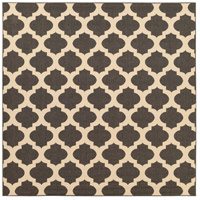 Alfresco 105 X 105 inch Black and Neutral Outdoor Area Rug, Polypropylene