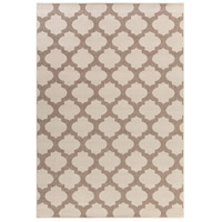 Alfresco 129 X 90 inch Neutral and Brown Outdoor Area Rug, Polypropylene