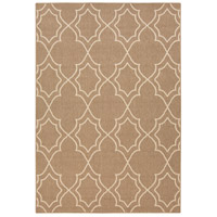 Alfresco 108 X 72 inch Brown and Neutral Outdoor Area Rug, Polypropylene