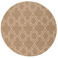 Alfresco 87 inch Brown and Neutral Outdoor Area Rug, Polypropylene