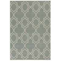 Alfresco 54 X 27 inch Green and Neutral Outdoor Area Rug, Polypropylene