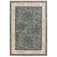 Alfresco 66 X 42 inch Green and Neutral Outdoor Area Rug, Polypropylene