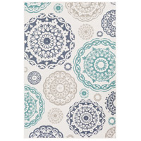Alfresco 108 X 72 inch Teal Outdoor Area Rug, Rectangle