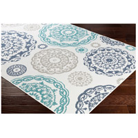 Surya ALF9665-2346 Alfresco 54 X 27 inch Teal Outdoor Area Rug, Rectangle alternative photo thumbnail