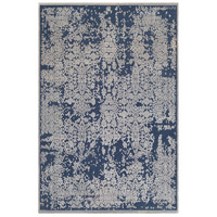 Aesop 87 X 62 inch Dark Blue Indoor Area Rug, Rectangle