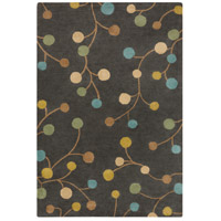 Athena 144 X 108 inch Neutral and Blue Area Rug, Wool