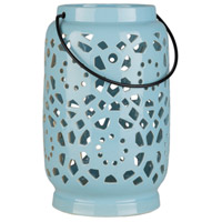 Surya AVR925-S Avery 7 X 6 inch Blue Outdoor Decorative Lantern