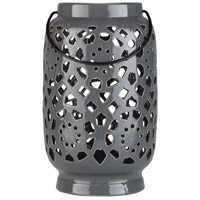 Surya AVR930-L Avery 11 X 7 inch Grey Outdoor Decorative Lantern