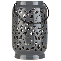 Avery 9 X 6 inch Grey Outdoor Decorative Lantern