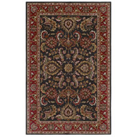 Surya AWHY2061-58 Middleton 96 X 60 inch Bright Red/Charcoal/Mustard/Dark Brown/Olive/Tan Rugs, Rectangle photo thumbnail