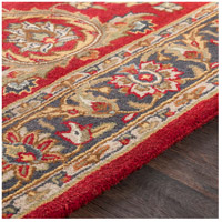 Surya AWHY2062-6RD Middleton 72 X 72 inch Bright Red/Charcoal/Mustard/Dark Brown/Olive/Tan Rugs, Round alternative photo thumbnail