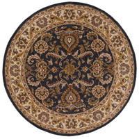 Surya AWHY2063-8RD Middleton 96 X 96 inch Denim/Tan/Khaki/Olive/Dark Red/Camel Rugs, Round photo thumbnail