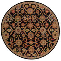 Surya AWMD2073-8RD Middleton 96 X 96 inch Black/Rust/Olive/Camel/Tan/Sage Rugs, Round photo thumbnail