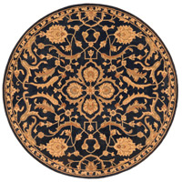 Surya AWMD2088-8RD Middleton 96 X 96 inch Navy Indoor Area Rug, Round photo thumbnail