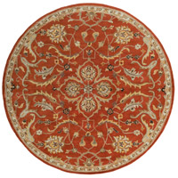 Surya AWMD2091-8RD Middleton 96 X 96 inch Burnt Orange Indoor Area Rug, Round photo thumbnail