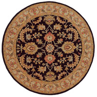 Surya AWOC2000-8RD Middleton 96 X 96 inch Black Indoor Area Rug, Round photo thumbnail