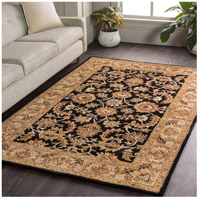 Surya AWOC2000-8RD Middleton 96 X 96 inch Black Indoor Area Rug, Round alternative photo thumbnail