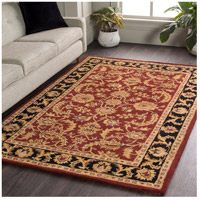 Surya AWOC2001-6RD Middleton 72 X 72 inch Dark Brown/Mustard/Black/Clay Rugs, Round alternative photo thumbnail