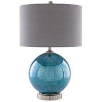 Surya Nickel Table Lamps