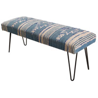 Surya BATU001-481618 Batu Dark Blue/ Cream/White Furniture