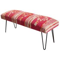 Surya BATU002-481618 Batu Bright Pink/ Blush/White/Bright Orange Furniture