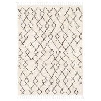 Berber Shag 36 X 24 inch Charcoal Indoor Area Rug, Rectangle