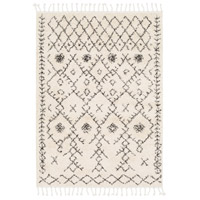 Berber Shag 67 X 47 inch Charcoal Indoor Area Rug, Rectangle