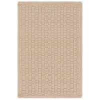 Barcelona 36 X 24 inch Brown Outdoor Area Rug, Polypropylene, Polyester, and Viscose