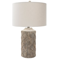Surya BED100-TBL Brenda 27 inch 100 watt Antique Table Lamp Portable Light