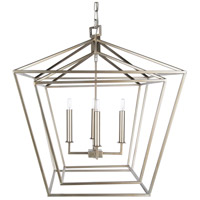 Surya BEI-001 Bellair 4 Light 24 inch Foyer Lantern Ceiling Light