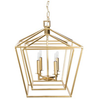 Surya BEI-004 Bellair 4 Light 21 inch Foyer Lantern Ceiling Light