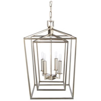 Surya BEI-005 Bellair 4 Light 14 inch Foyer Lantern Ceiling Light