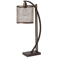 Surya BEU-101 Beaufort 26 inch 60 watt Bronzed Table Lamp Portable Light