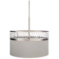 Surya BJU-002 Bijou 3 Light 19 inch Medium Gray Pendant Ceiling Light