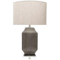 Surya BKE100-TBL Blacklake 35 inch 100 watt Glazed Table Lamp Portable Light