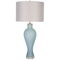 Surya BUL-001 Buckley 32 inch 100 watt Light Gray Table Lamp Portable Light