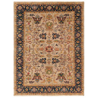 Bursa 120 X 96 inch Brown and Neutral Area Rug, Wool